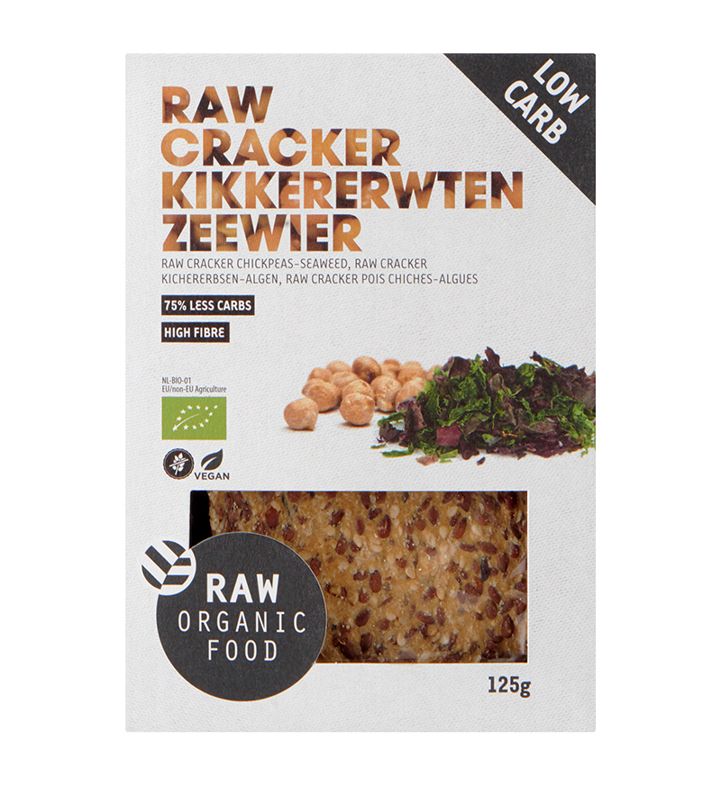 RAW Cracker zeewier